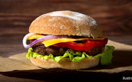 1 či 2 burgery dle výběru s rozvozem až k vám