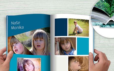 Exkluzivní fotokniha v šité vazbě ve formátu A4