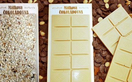 """Sladký Valentýn: """"Zlatá čokoláda"""" s věnováním"""