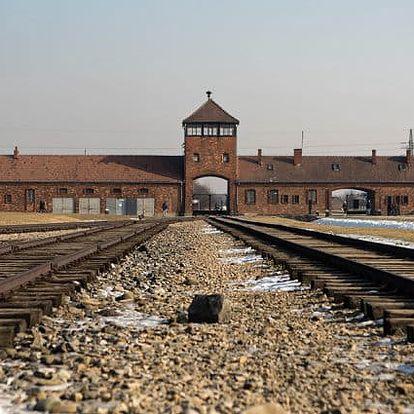 Celodenní zájezd pro 1 do koncentračního tábora v Osvětimi a Krakova s prohlídkou města