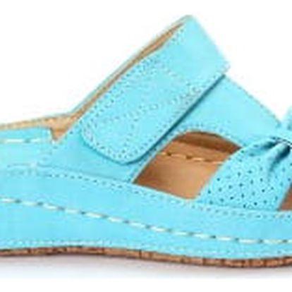 Dámské zdravotní pantofle KOKA 8 modré