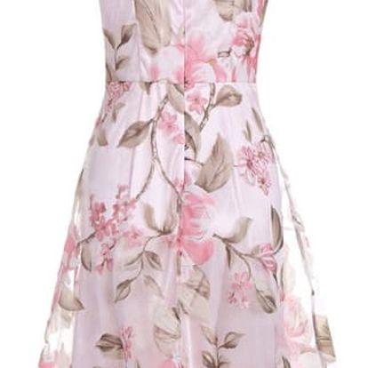 Dámské šaty s květinami - 4 velikosti