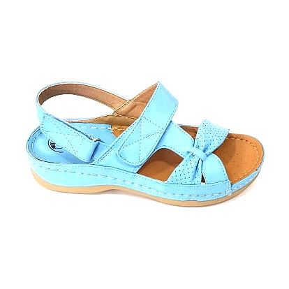 Dámské zdravotní sandále KOKA 1 modré