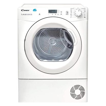 Sušička prádla Candy CS H7A2LE-S bílá + Doprava zdarma