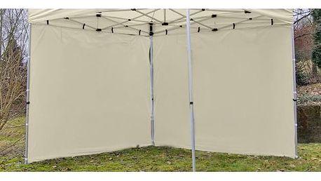 Garthen PROFI 426 Sada 2 bočních stěn pro zahradní stan 3 x 3 m - krémová
