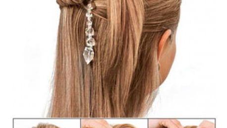 Spony do vlasů Twist n Clip - pevný a elegantní účes během chvilky!