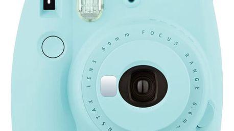 Digitální fotoaparát Fuji Instax mini 9 modrý + DOPRAVA ZDARMA