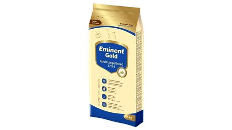 Granule Eminent Gold Adult Large Breed 15kg + 3kg Zdarma Granule Eminent Gold Adult Large Breed 2kg (zdarma) + Doprava zdarma