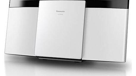 Mikrosystém Panasonic SC-HC195EG-W bílý + Doprava zdarma