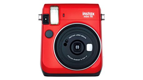 Digitální fotoaparát Fuji Instax mini 70 červený