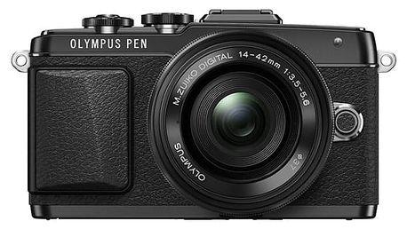 Digitální fotoaparát Olympus PEN E-PL7 + 14-42 Pancake Zoom černý + DOPRAVA ZDARMA