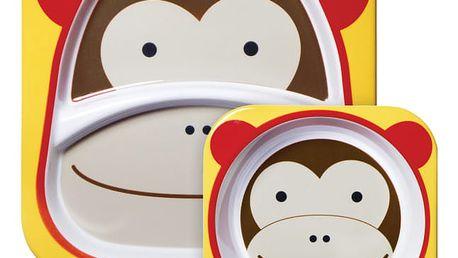 SKIP HOP Zoo Jídelní set - Opička