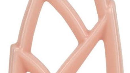 Růžová svíčka Alusi Livia Grande, 6hodin hoření