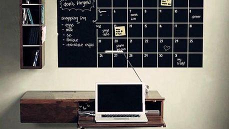 Samolepicí tabule - Měsíční plánovač