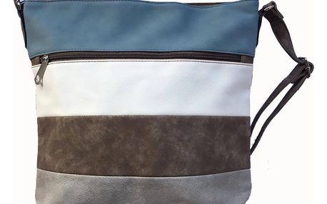Dámské pruhované crossbody kabelky Tapple