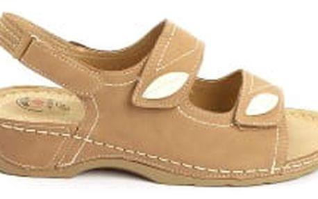 Dámské zdravotní sandále KOKA 6 Khaki