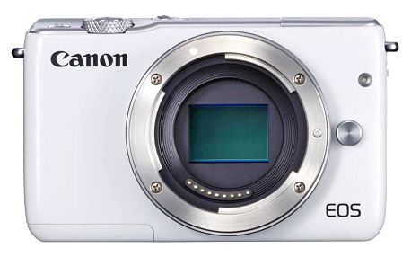Digitální fotoaparát Canon EOS M10, bílá 0922C002
