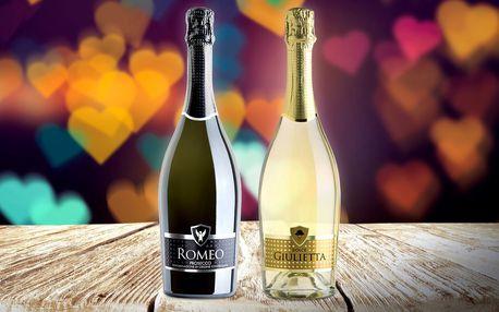 Bublinky pro zamilované: prosecco Romeo & Julie