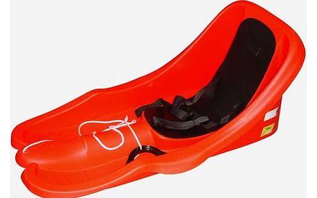 Acra Boby Baby s opěrkou a popruhem červené