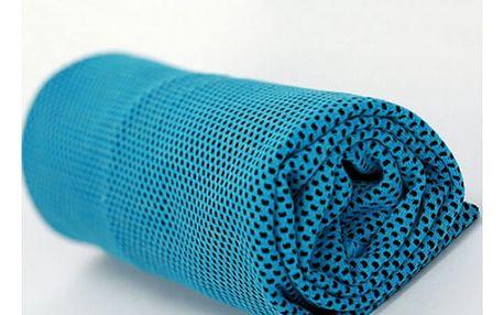 Praktický chladící ručník, při sportu, při velké fyzické zátěži, při únavě, bolesti hlavy aj.
