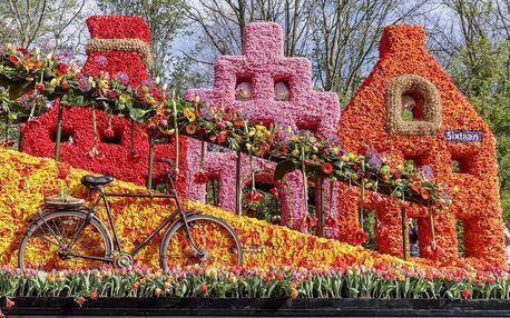 3 dny Holandsko, Amsterdam a park Keukenhof s tulipány: včetně korza - odjezdy z celé ČR