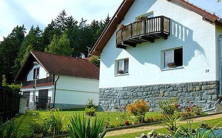 3 až 5denní pobyt pro 2–5 osob se saunou v apartmánu Podhájí v jižních Čechách