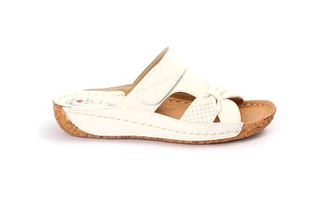 Dámské zdravotní pantofle KOKA 8 bílé