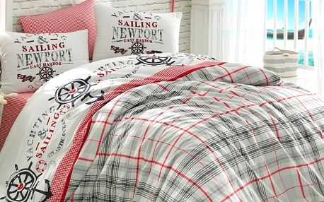 Bedtex povlečení bavlna Jachting, 140 x 200 cm, 70 x 90 cm