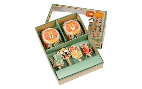 Sada pro zdobení cupcaků Rex London Colourful Creatures