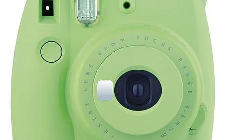 Digitální fotoaparát Fuji Instax mini 9 zelený + DOPRAVA ZDARMA