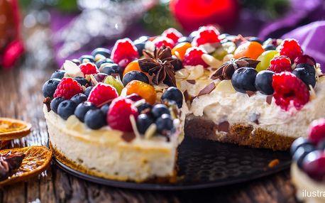 Domácí 1400g cheesecake z kvalitních surovin
