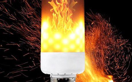 LED žárovka s efektem plamenu - E27, E26, E14, E12 a B22