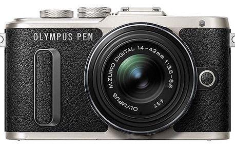 Digitální fotoaparát Olympus PEN E-PL8 černý + DOPRAVA ZDARMA