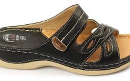 Dámské zdravotní pantofle KOKA 10 černé