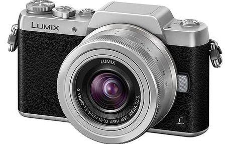 Digitální fotoaparát Panasonic Lumix DMC-GF7KEG-S + objektiv 12-32 mm černý/stříbrný + DOPRAVA ZDARMA