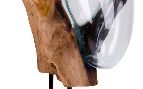 Dekorace z teakového dřeva House Nordic San Marino