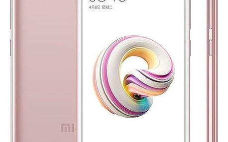 Mobilní telefon Xiaomi Redmi 5A 16 GB Dual SIM (17212) růžový Software F-Secure SAFE, 3 zařízení / 6 měsíců v hodnotě 979 Kč