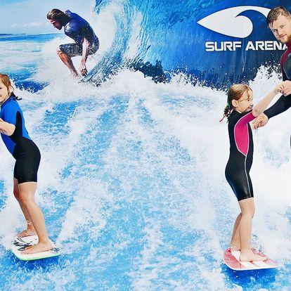 Hurá do vln: Dětský příměstský tábor se surfem