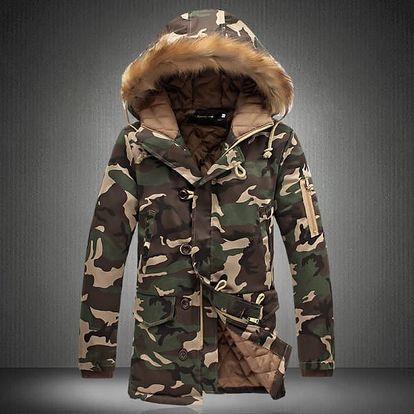 Pánská zimní bunda Taron - 2 barvy
