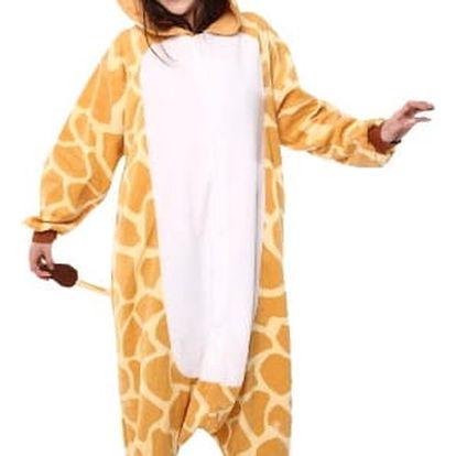 Originální overal Kigurumi - Žirafa