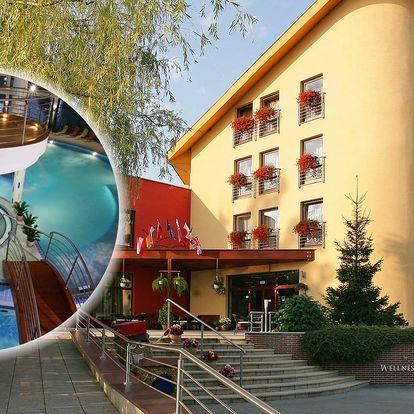 Wellness Hotel Patince **** s neomezeným wellness, s masáží a polopenzí