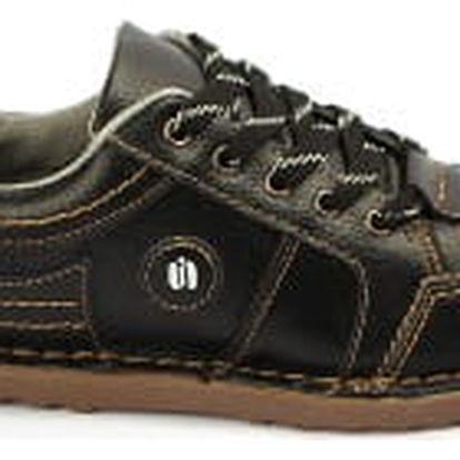 Kvalitní dámské kožené boty SUPER IN black