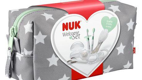 NUK Výbavička pro novorozence v kosmetické taštičce 8ks