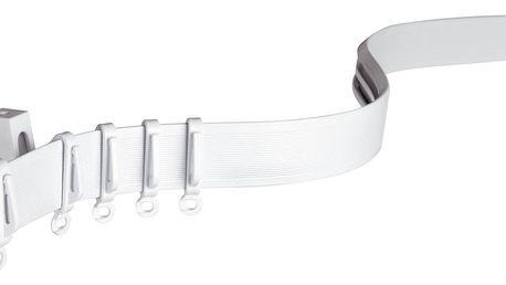 Gardinia Kolejnice FlexLine ohebná bílá, 350 cm