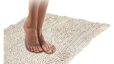 Kvalitní koberec do koupelny krémový