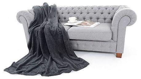 Deka Soft Dreams tmavě šedá 150x200 cm