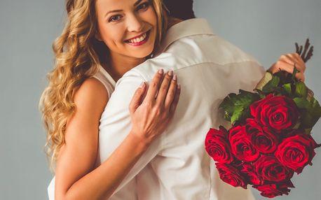 Překvapte svou milou: kytice růží dle výběru