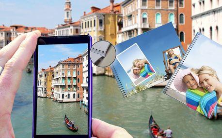 Fotokniha v kroužkové vazbě na křídovém papíře A4/A5