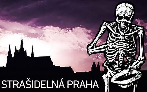 90minutová strašidelná, zábavná a naučná procházka centrem Prahy pro malé i velké
