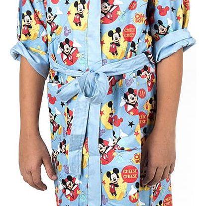 Jerry Fabrics Dětský župan Mickey Mouse, 6 - 8 let, 6 - 8 let